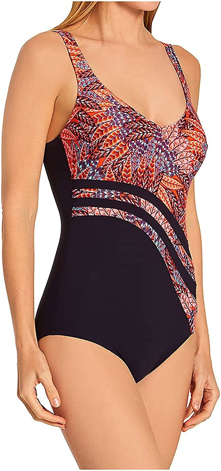 Anita Women's Desert Flowers Special price Luella Swimsuit Shaping 7 One Piece New life