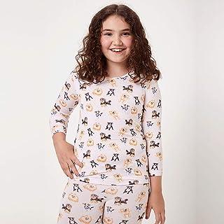 Pijama Longo Malha Dogs Kids