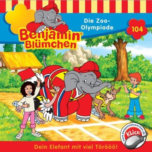 Page de couverture de Die Zoo-Olympiade