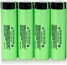 100% Ncr18650B 3 7 V 3400 Mah 18650 Lithium Oplaadbare Batterij voor Zaklamp Batterijen (geen PCB) 4 Stks