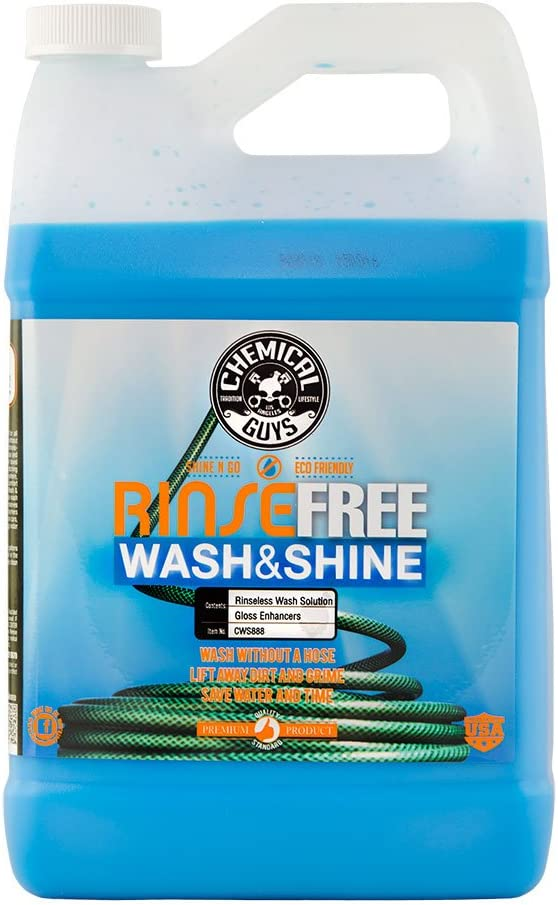Chemical Guys CWS888 Rinse-Free Car Soap Clearance SALE! Limited time! Rinseless Wash Shine sold out