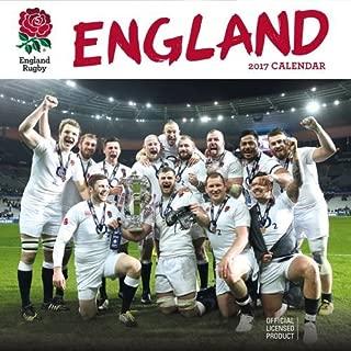 England Rugby Union Official 2017 Square Calendar