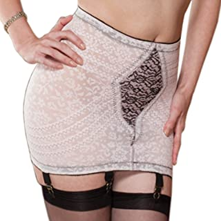 Women's Extra Firm Shaping Open Bottom Fashion Girdle - Multi - Large Pink/Black