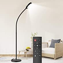Dodocool Floor Lamp, Remote & Touch Control 2500K-6000K LED Floor Lamp for Bedroom and Floor Lamp for Living Room and 4 Co...