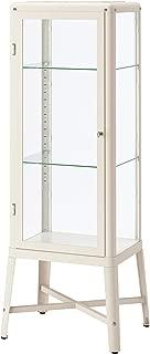 IKEA Fabrikör Glass-Door Cabinet, Beige