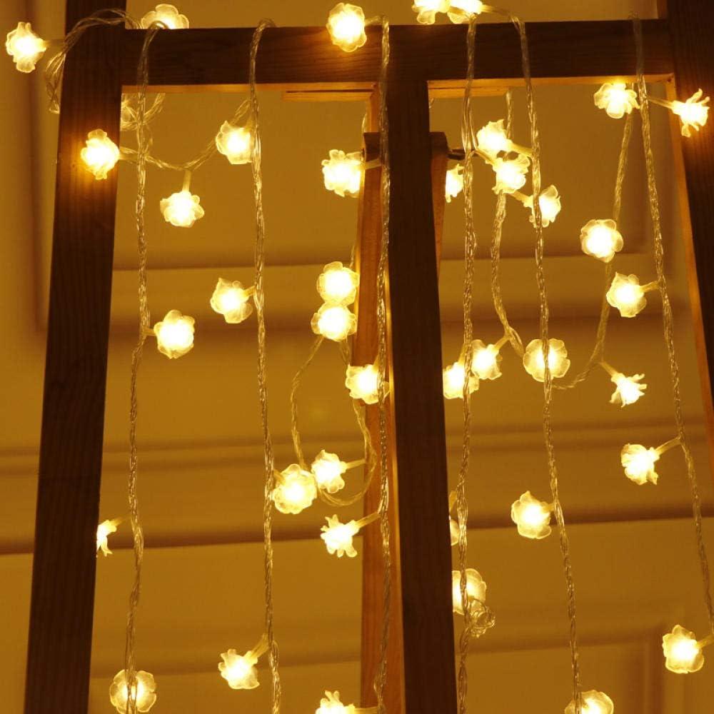 VCBDFG 10M Online limited product 100 Max 71% OFF LEDs Rose Christmas Lights LED Garland String Wed