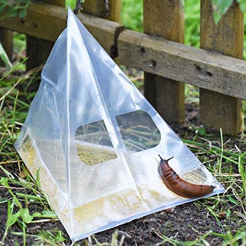 VOSS.garden 50x Schneckenfalle Slug Ex, Schnecken bekämpfen ohne Gift, Bierfalle, Bioschneckenfalle, ohne Chemie frei von Schnecken
