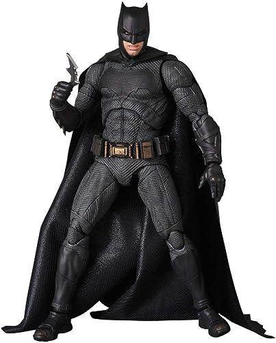preferente Liga De La Justicia, Batman, PVC En Caja,Móvil, 16 CM,negro-16CM CM,negro-16CM CM,negro-16CM  muchas concesiones