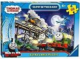 Ravensburger Puzzle Thomas y Sus Amigos – 60 Piezas de tamaño Extra Grande, Brilla en la Oscuridad
