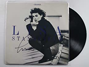 Lisa Stansfield Signed Autographed
