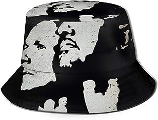 JHGFG Gorras Generales para Hombres y Mujeres Sombrero de Pescador de algodón 10 Jahre Eisbrecher by Eisbrecher Sombrero de diseño único Bucket Cap Black