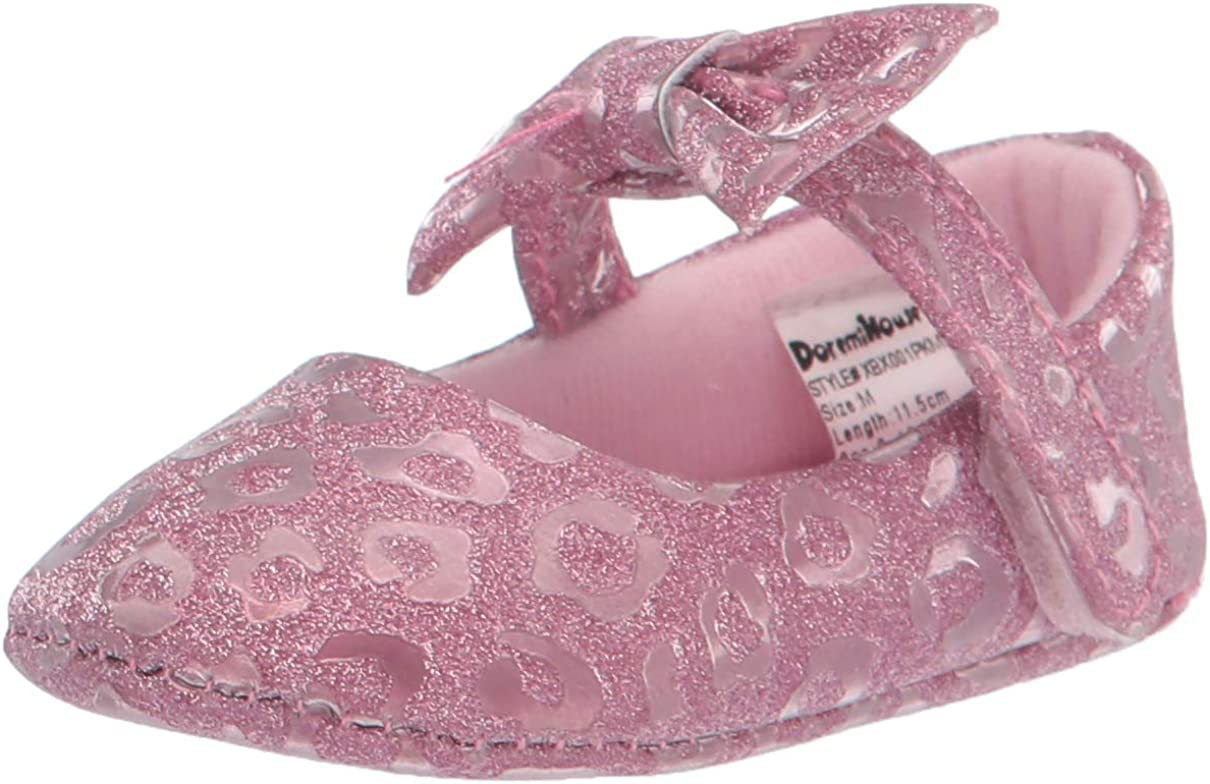 Comway Baby Girls Toddler Mary Jane Flats Shoes Bowknot Soft Infant Prewalker 0-18 Months