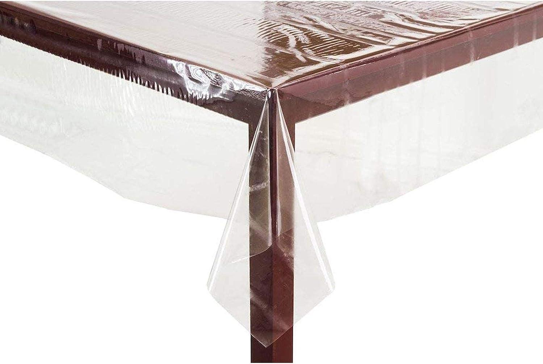 /öLbest/äNdig 30x30cm//11.81x11.81in 0,25 Mm Dick Wasserdicht Tischschutz FXDCQC Tischschutz Folie Folienschutz Tischbedeckung Farblos Transparent Schutzmatte Tischdecke