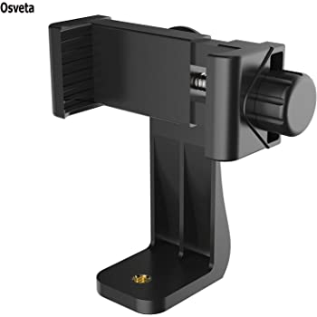 Osveta Tripod Mount Adapter| Tripod Mobile Holder|Tripod Phone Mount| Smartphone Clip Clipper 360 Degree for Taking Magic Video Shots & Pictures.