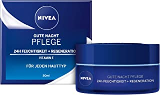 Nivea Vårdande god nattkräm regenererande, 50 ml