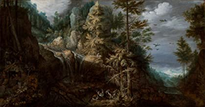 Paintings Poster - Landscape with the Temptation of Saint Anthony, 24