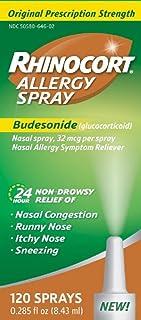 Best Rhinocort Allergy Spray - 120 Sprays, Pack of 6 Review