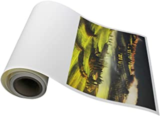 Elegance Velvet 17 in x 10 ft roll is a Premium Matte 310 gsm, Cold Pressed Bright White Museum Grade Fine Art Inkjet Paper, Compatible with Most Dye-Based and Pigment Printers