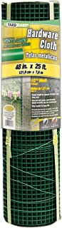 YARDGARD 308260B Fence, 19 Gauge/4' x 25', Color - Green