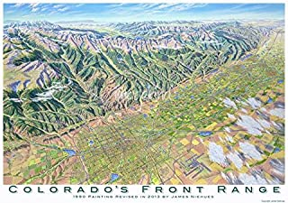 Imagekind Wall Art Print Entitled Colorado Front Range by James Niehues | 16 x 11