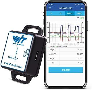 [Bluetooth 5.0 Accelerometer +lutningsmätare] WT901BLECL MPU9250 Högprecisions 9-axlig gyroskop +vinkel (XY 0,05 ° noggran...