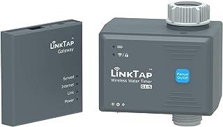 LinkTap G1S Draadloze Bewateringscomputer & Gateway - Cloudgestuurde Bewateringstimer met Slimme App voor Tuinen, Grotere ...