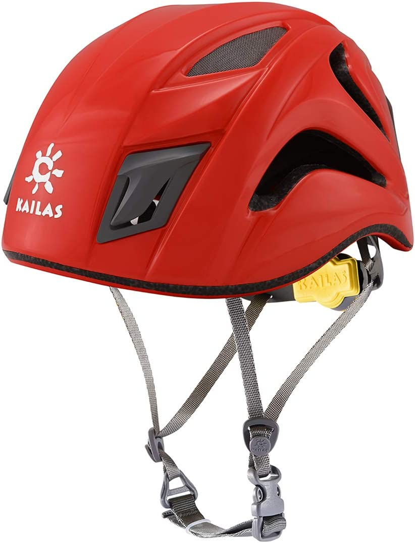 KAILAS Selma Ⅱ Rock Climbing Helmet Safety Head Guard Lightweight Adjustable for Mountaineering : Sports & Outdoors