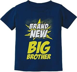 Big Brother Shirt Superhero Gift for Boys Big Brother Toddler Infant Kids Tshirt