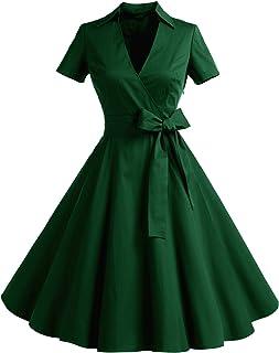 6f7c0a56bdc Timormode Robe Années 50 s Audrey Hepburn Rockabilly Swing