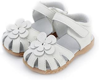 [ZKKK] 女の子靴 かわいい プリンセス靴 ベビーシューズ ガールズ春靴 サンダル 夏 花付き 通気性よい 滑り止め 結婚式 カジュアル