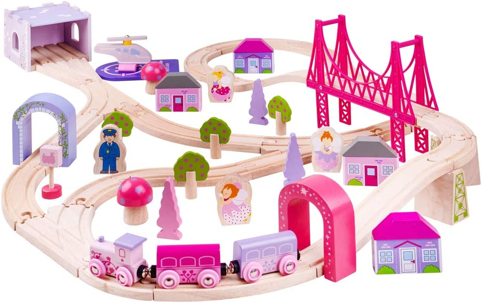 Max 61% OFF Bigjigs Rail supreme Fairy Town Set Train