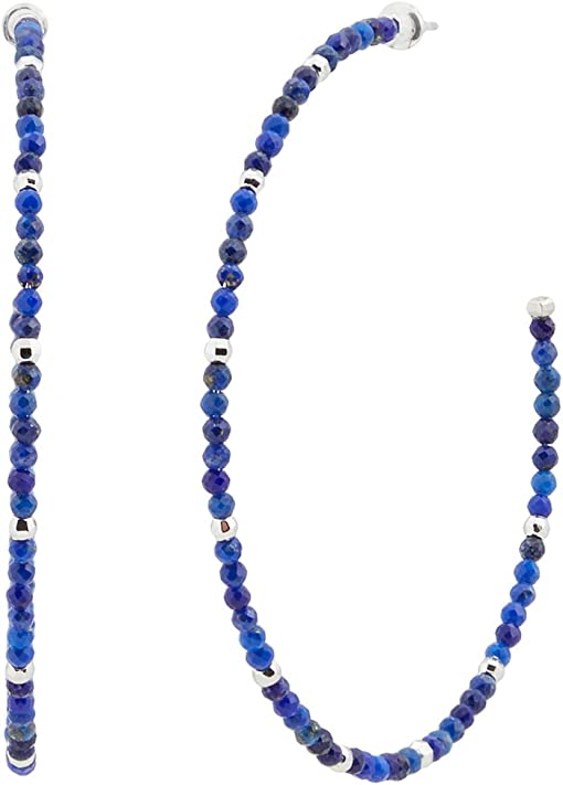 Rhodium Blue Lapis