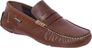 Maplewood Gates Tan Loafer Shoes for Men