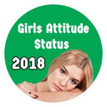 Status 2018 for Girls Attitude