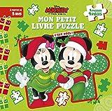 MICKEY ET SES AMIS - Mon Petit Livre Puzzle - 5 Puzzles 9 Pièces - C'est Noël ! -...