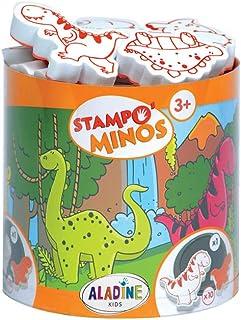 Aladine - 85123 - Loisir Créatif - Stampominos - Dinosaure