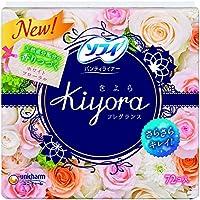 ユニ・チャーム ソフィ Kiyora(きよら) フレグランス ホワイトフローラルの香り 72枚×24点セット (4903111330997)