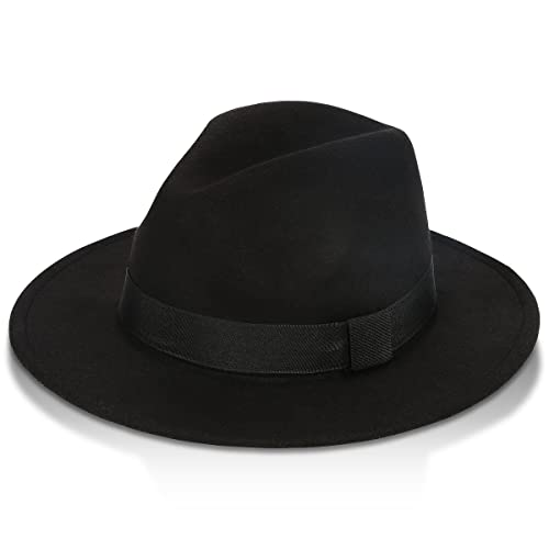 02fe1444dcfd6 GrowGlow Vintage Fedora Hat