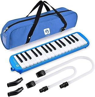 Melodica، Melodica Instrument with Mouthpiece 32 Keyboard Premium Key Melodicas Keyboard Keyboard Keyboard قابل حمل با کیسه حمل [نسخه جدید]