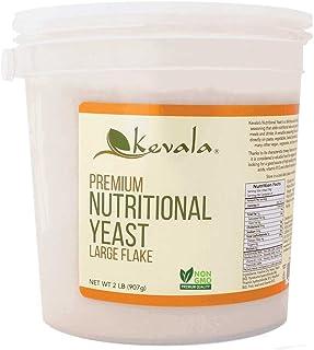 Kevala Nutritional Yeast, 2 Lb, Large flake, Vegan Seasoning