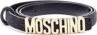 Luxury Fashion | Moschino Womens A803480081555 Black Belt | Spring Summer 19