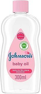 JOHNSON'S Baby Moisturising Oil, 300ml
