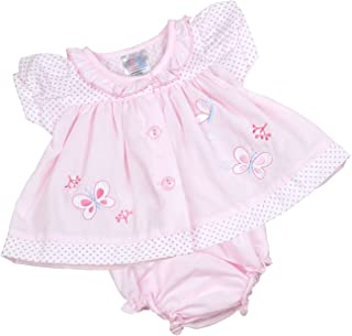 BabyPrem Preemie Baby Dress & Knickers Set Butterfly Girls Clothes 5.5-7.5lb Pink P3