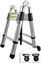 Se Pliant /Échelles D/étape Multifonctionnelles Portatives /Élev/ées /Échelle T/élescopique En Aluminium Dextension Avec Des Crochets 3.2m Charge 350kg