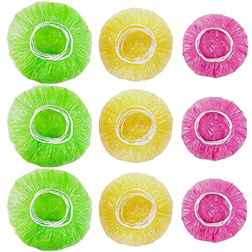 90 Pezzi Copertura In Plastica Per Alimenti, Coperchio Ciotola In Plastica, Per Tazze, Riutilizzabile, Protezione Per Mantenere La Freschezza Delle Verdure
