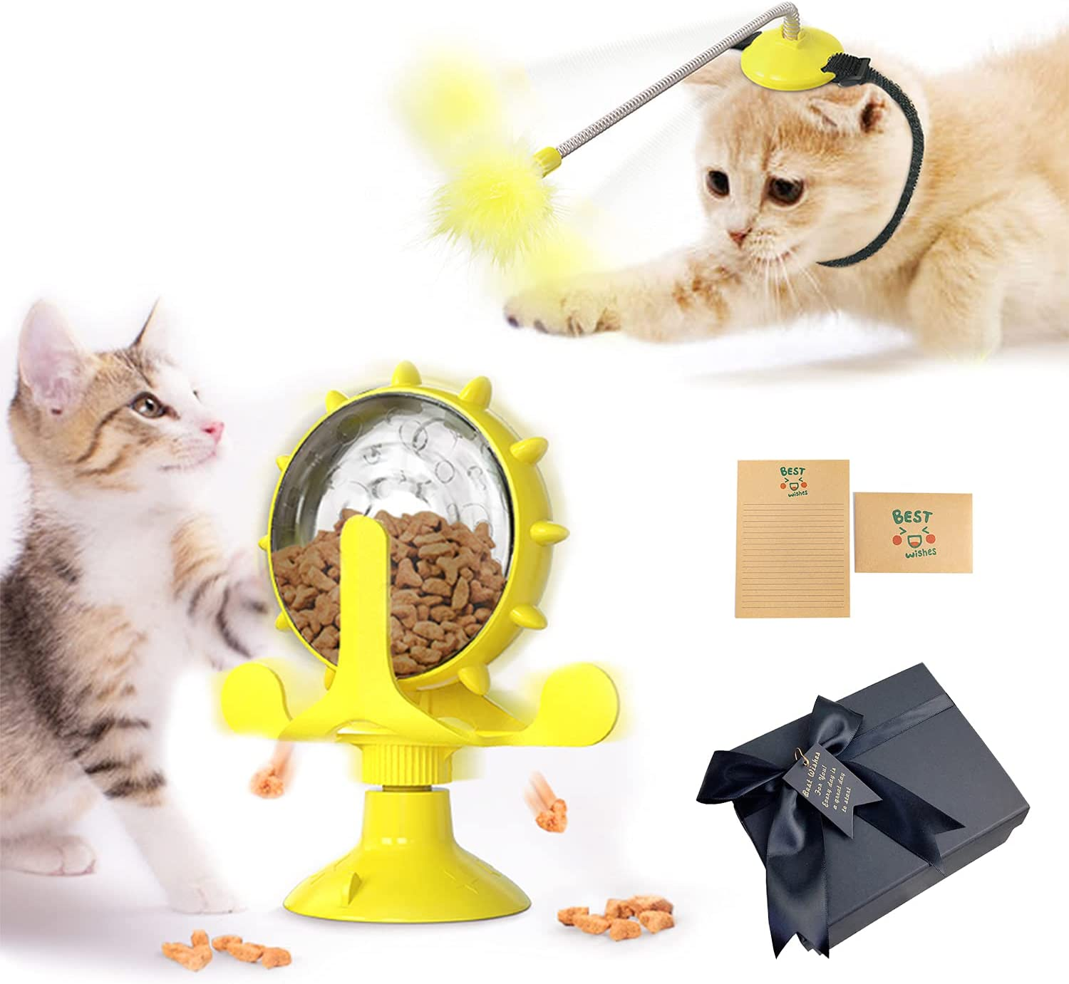 POKIGEED Cat Gifts Toys Super beauty product restock quality top Box for Kitten All items in the store Wh Birthday Exercise