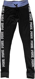 Victorias Secret PINK Campus Legging Flat Waist Yoga Pants X-Small Dark Gray Lilac