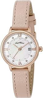 [エンジェルハート] 腕時計 LUXE ホワイト文字盤 スワロフスキークリスタル ソーラー電池 LU26P-PK レディース ピンクゴールド