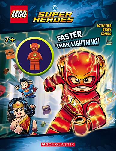 Faster Than Lightning! [With Minifigure] Lego DC Super