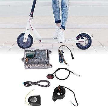 Kit de Controlador para XIAOMI Scooter, Placa Base + Placa de Bluetooth + Faro + Luz de Cola + Acelerador + Cable Kit de Reparación para Xiaomi ...
